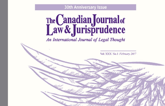 Canadian Journal of Law and Jurisprudence